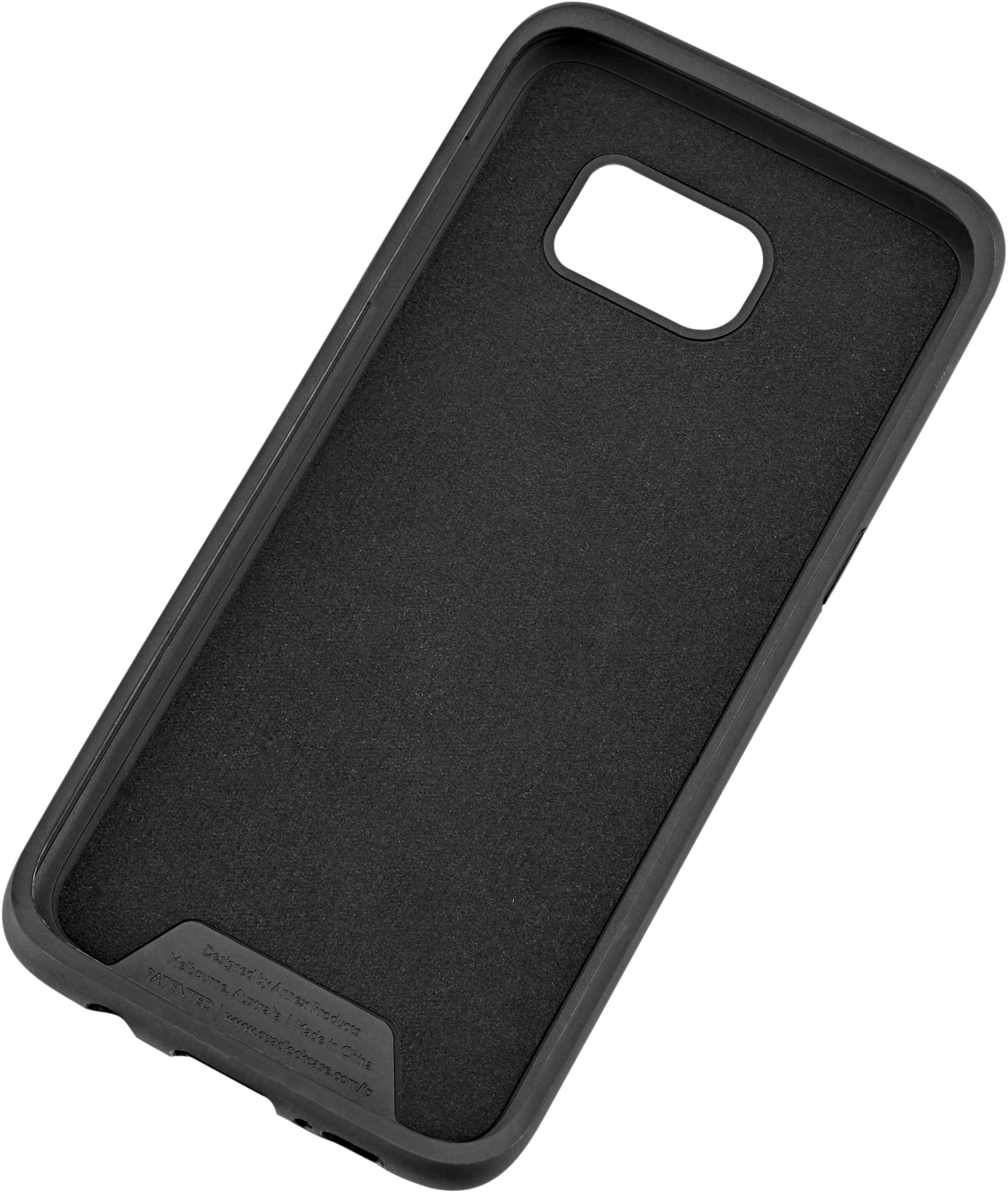 check out ee8a0 1fc07 Quad Lock Case Samsung Galaxy S7 Edge svart
